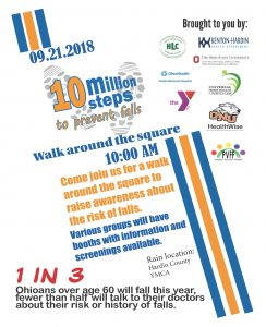 10 Million Steps to Prevent Falls @ Hardin County Courthouse Square