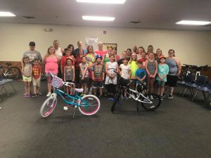 Family Bike Program Group Photo