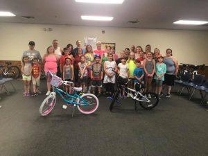 Family Bike Program Group Photo
