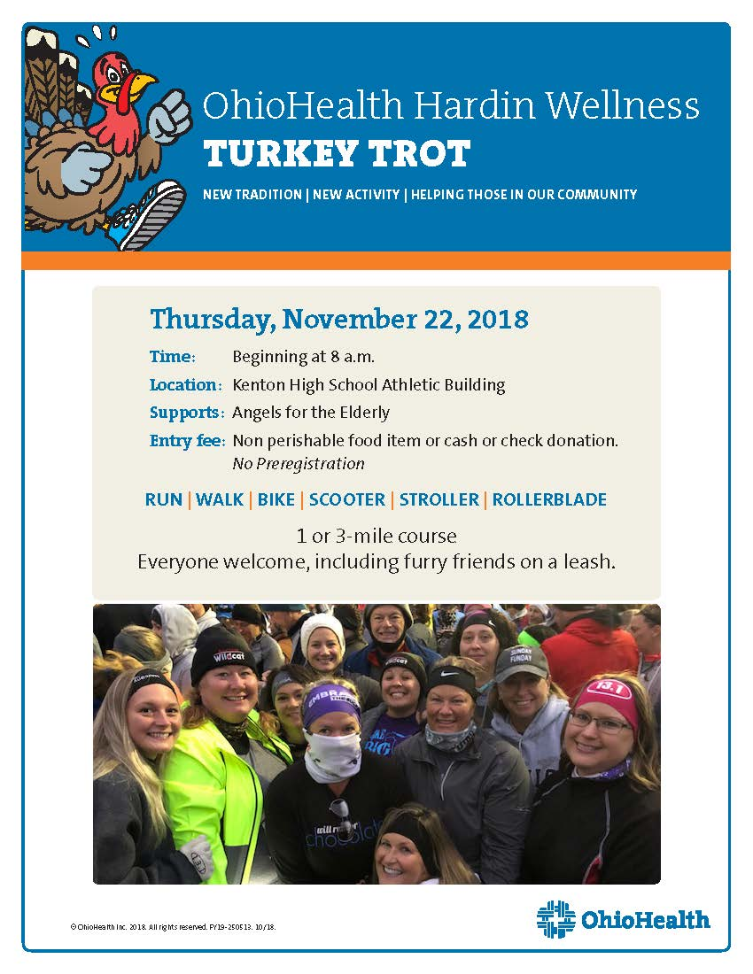 Turkey Trot Run/Walk Planned
