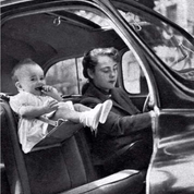 Car seat in 1950's