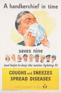 Handkerchief poster