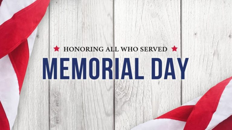 Offices Closed for Memorial Day