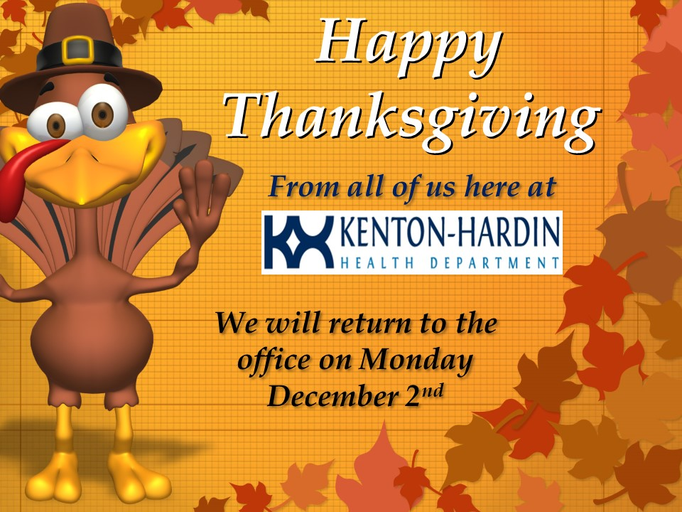 Offices Closed for Thanksgiving