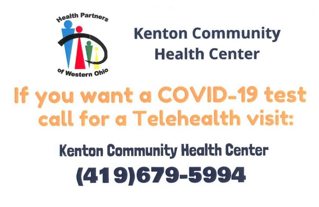 Testing Site at Kenton Community Health Center Kenton, Ohio